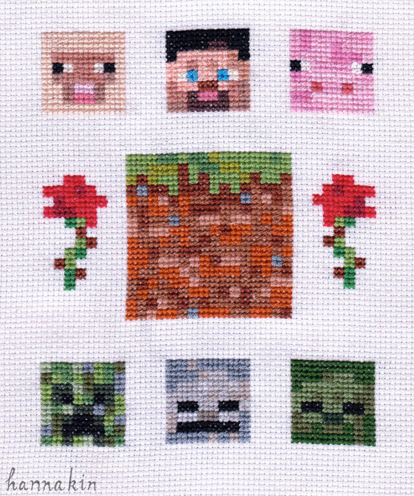 Nice Minecraft Stitch By Hannakin ...