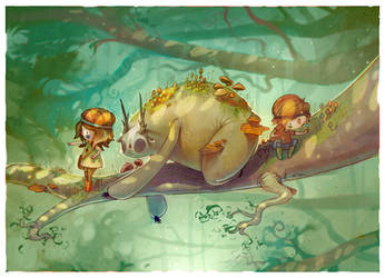 Children of the Glade by Hannakin