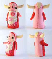 Nissa Lester - Art Doll by Hannakin