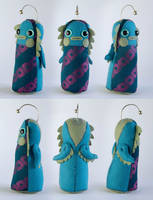The Doowacky of the Deep - Art Doll by Hannakin