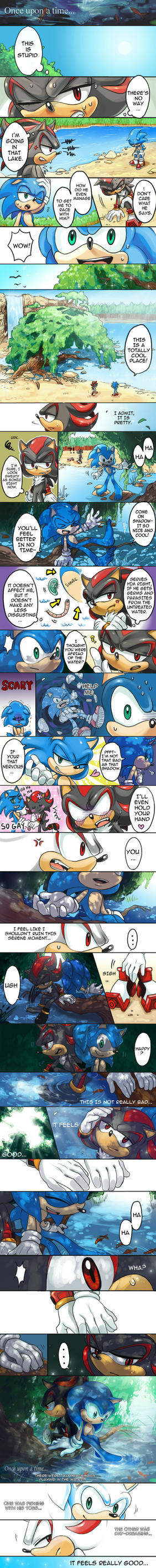 SONADOW: ONCE UPON A TIME ShORT COMIC by C2ndy2c1d
