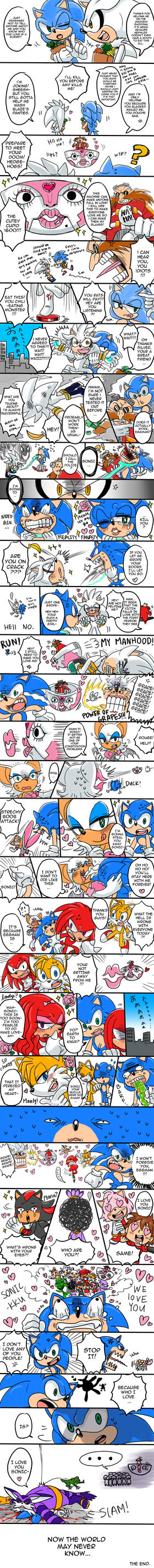 EVERYONE LOVE SONIC COMIC by C2ndy2c1d