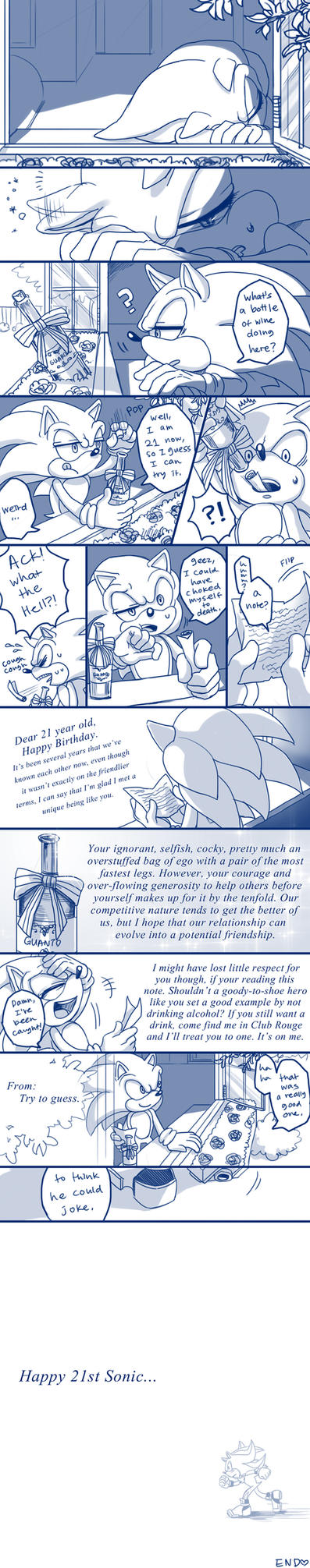 +HAPPY 21ST SONIC+ by C2ndy2c1d