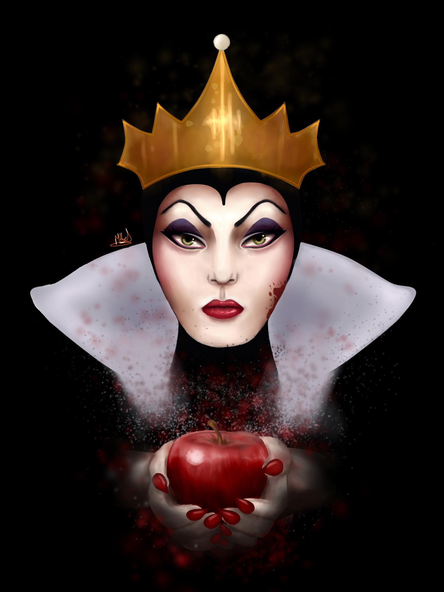Disney- Evil Queen by Mitchumhody on DeviantArtDisney Evil Queen Art