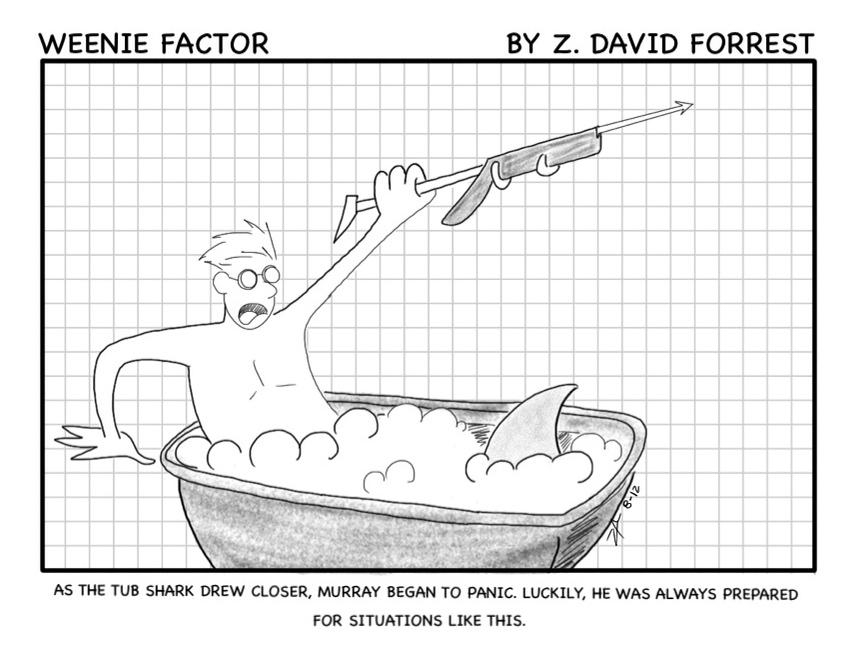 Weenie Factor #1 by ZDForrest