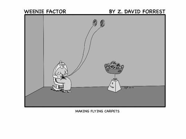 Weenie Factor #3 by ZDForrest