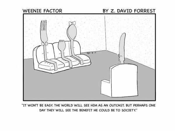 Weenie Factor #5 by ZDForrest