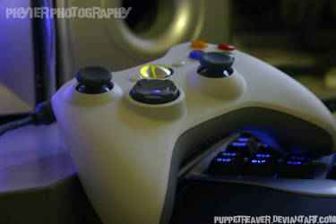 xBox Controller by PuppetReaver