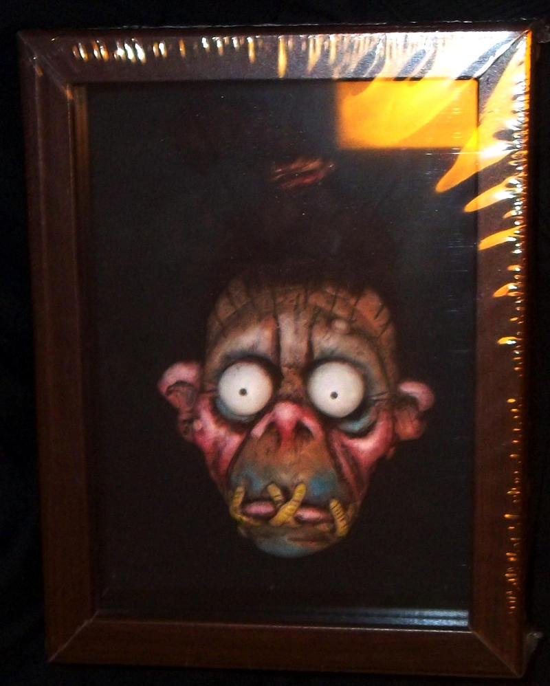 SHRUNKEN HEAD by JollyGorilla