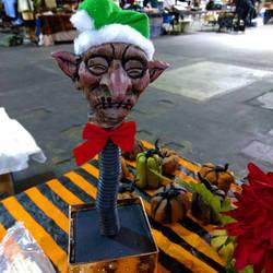 shrunken head elf jack in the box