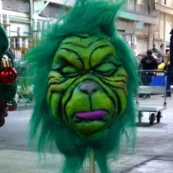 grinch shrunken head