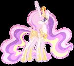 Aurora Celestia Vector #2 - Mlp