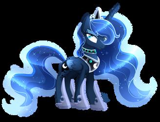 Princess Luna (Redraw) - Mlp by SugaryIceCreamMlp