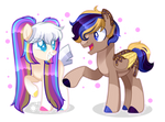 MLP Commission - Funfetti and Golden Delight
