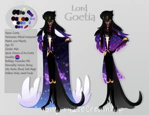 Lord Goetia - Helluva Boss (Oc)