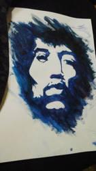 Jimi Hendrix by chevaun99