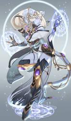 Draenei Shadow Priest by KityMewNeko