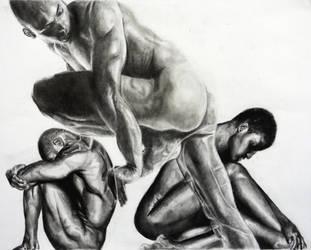 Nude Study by Wahm-bulence