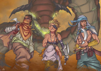 Desert Bandits by MariosDamakotto