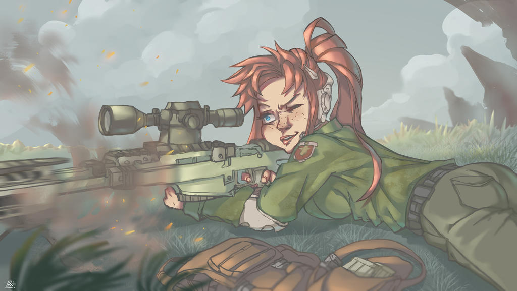 Sniper by MariosDamakotto