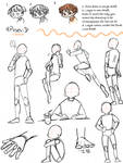 Pose Reference Sheets --2/2