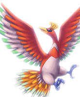 Ho-Oh by Rukaria