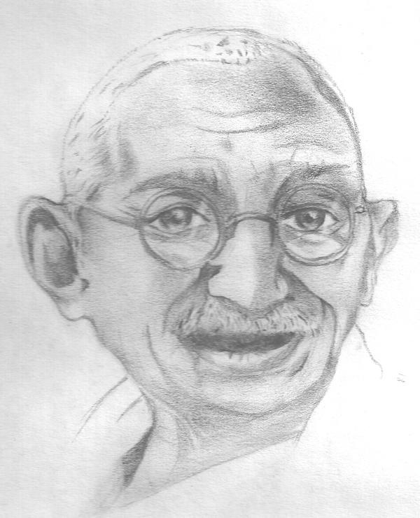 Gandhi by Vaines-polo