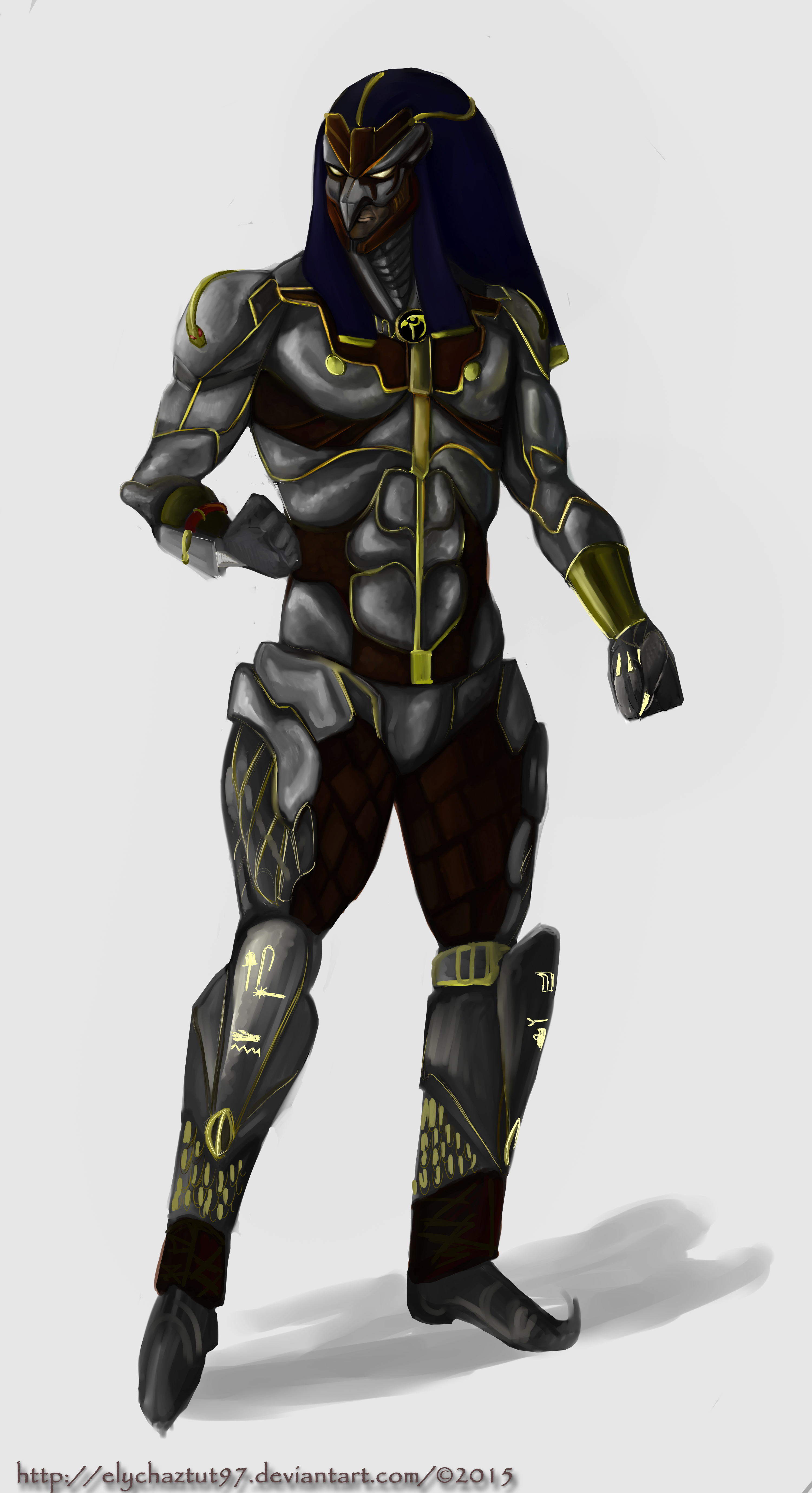 horus armor by elychaztut97 on deviantart