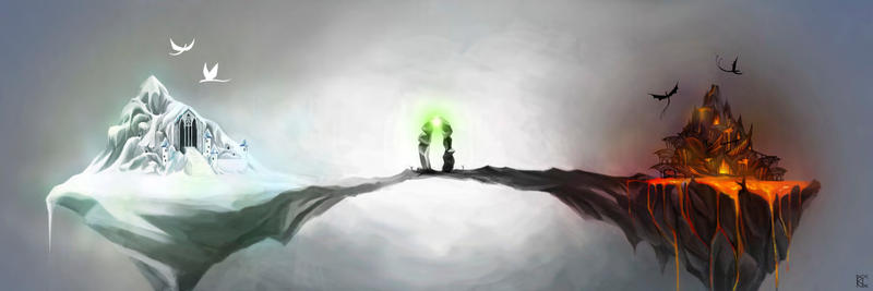 Bridge Between Two Worlds by maye6