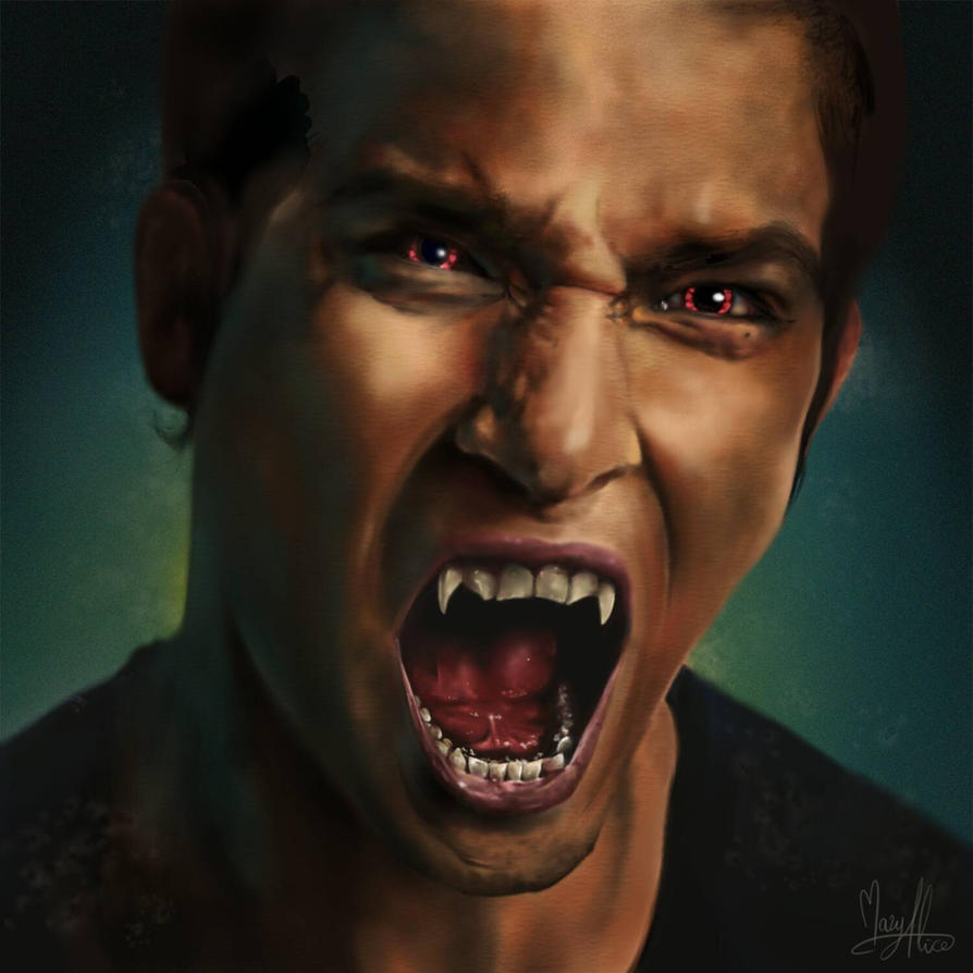 Scott McCall - Teen Wolf by MaryAliceArt