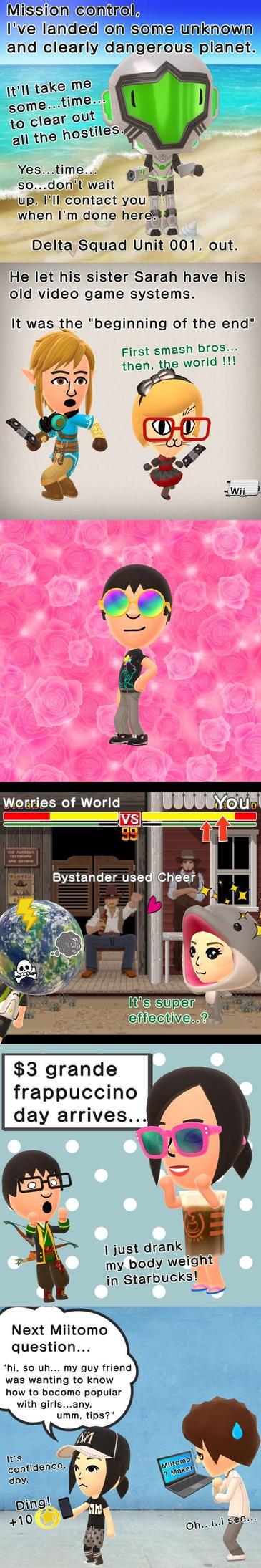 Miitomo Compilation by NintendoFanYes