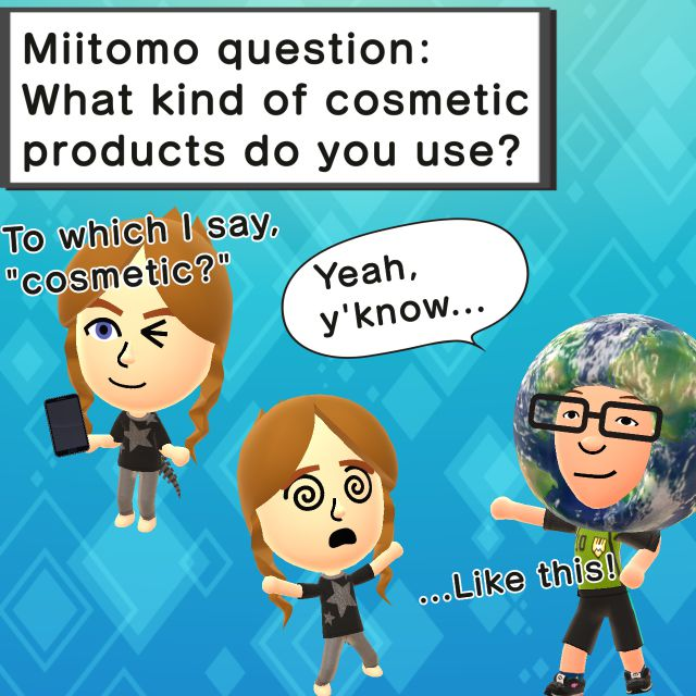 Miitomo - Cosmic Power by NintendoFanYes