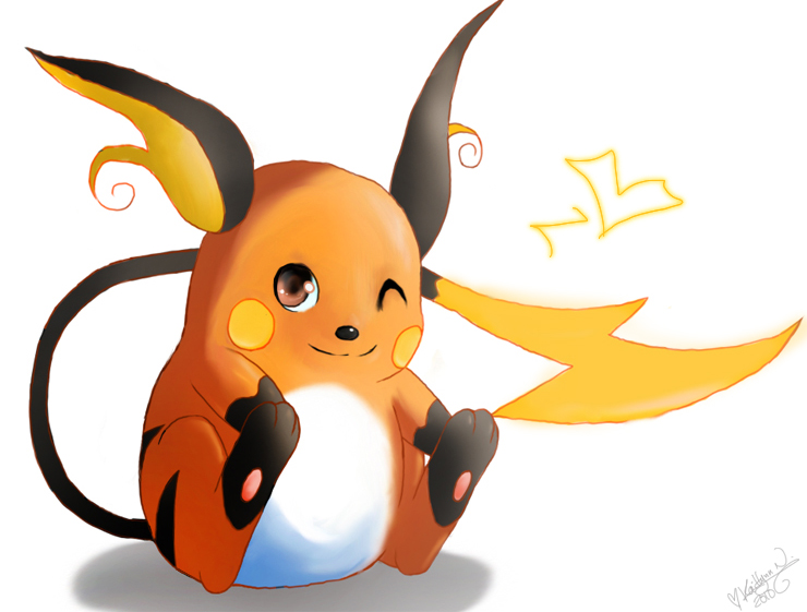 Pokemon: Raichu by chocolatecherry on DeviantArt
