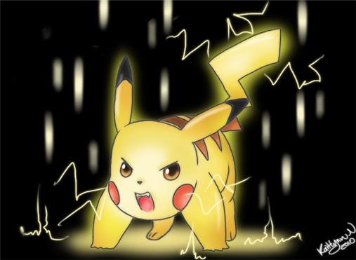 Pikachu - Diamond / Pearl - Pokedex - Azurilland