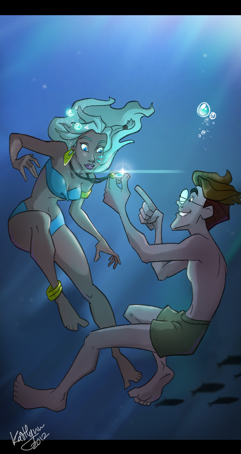 Disney's Atlantis by chocolatecherry