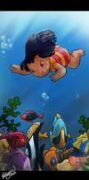 Underwater Lilo