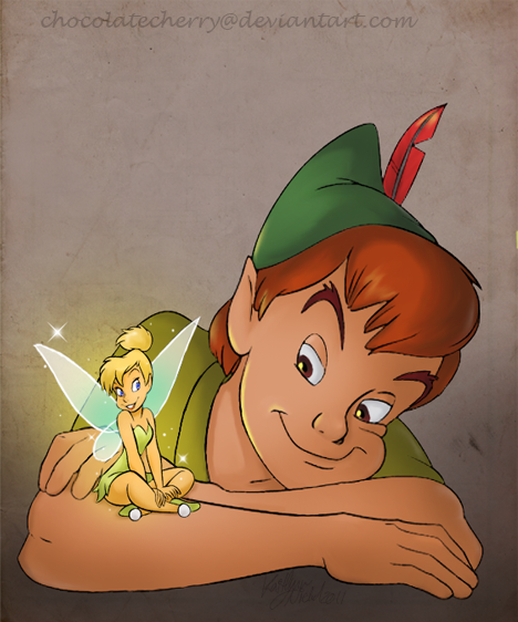 peter pan thinker bell - photo #33