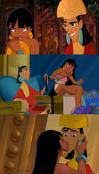 Kuzco and Chel Mashup