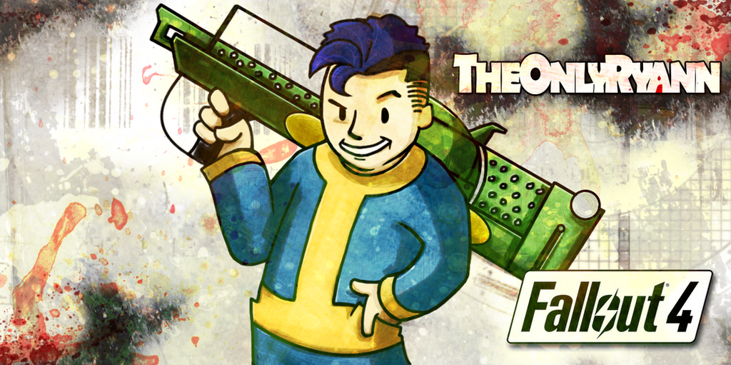 Fallout Vault Boy Fatman Postcard by IMAGINeye