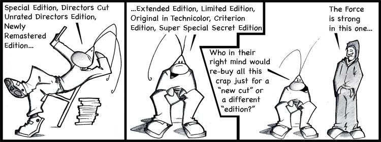 16th BUGZ comic by IMAGINeye