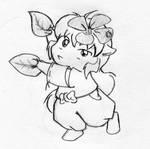 Chibi Inu- I IZ FLOWER