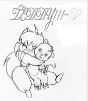 Inu Chibi- Teddy by o0OInuyashaO0o