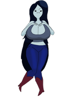 Busty Marcy by smilesaidboredgirl