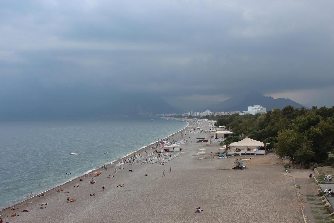 Konyaalti Beach by makssgame