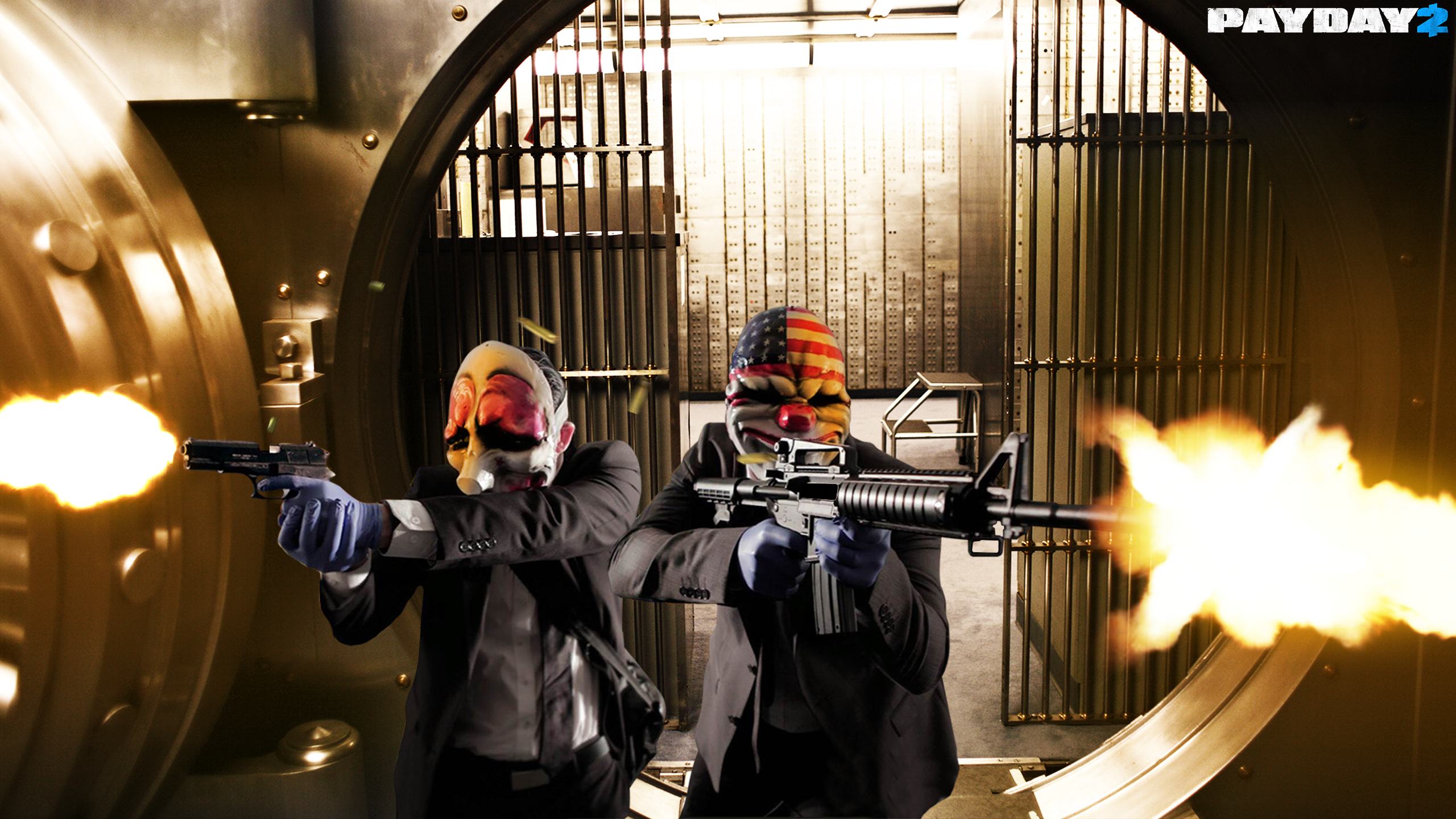 Payday 2 Wallpaper By Iamcondorrr On Deviantart