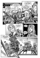 Spinnerette hates Adam Warren by KrazyKrow