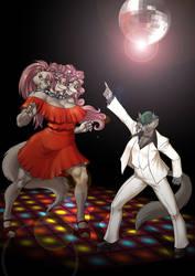 Disco Cerberus by KrazyKrow