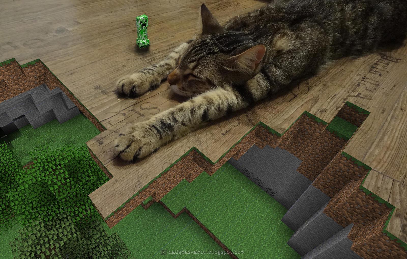 Pesadilla Minecraft de Curt by nadamas