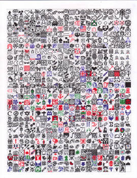 638 Tiny Squares finished
