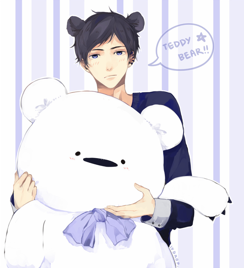 OZ: Teddy Bear by iVDrop on DeviantArt
